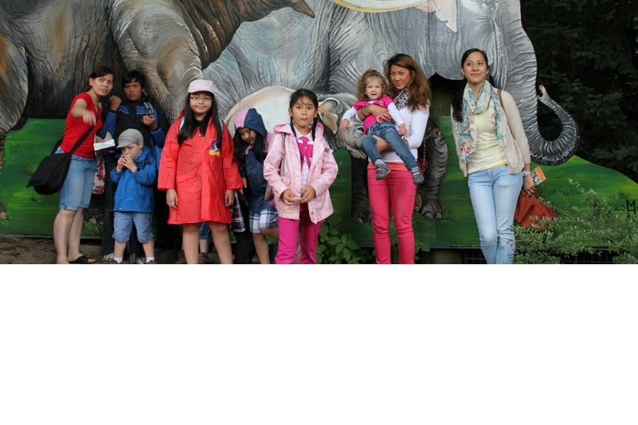 Ausflug nach Zoo